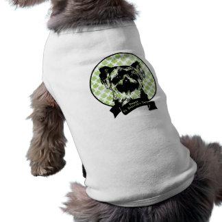 Rua Patricks - silhueta do yorkshire terrier Camisas Para Caes