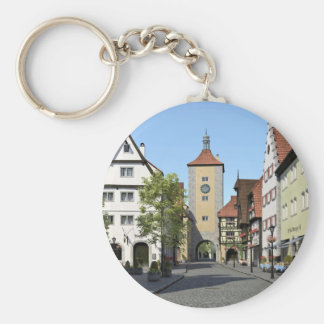 Rua principal da cidade de Baviera Chaveiro