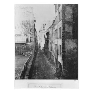 Rua Santo-Nicolas-du-Chardonnet Cartão Postal