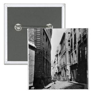 Rua Serpente, Paris, 1858-78 Pins