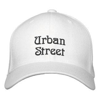 Rua urbana boné bordado