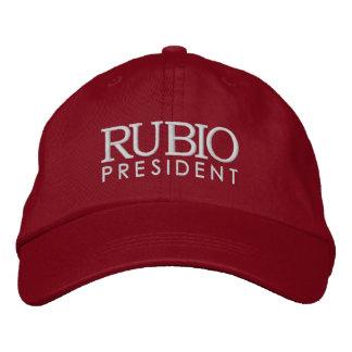Rubio para o presidente 2016 boné