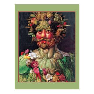 Rudolf II por Giuseppe Arcimboldo Cartão Postal