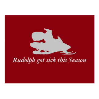 Rudolph obteve doente esta estação cartão