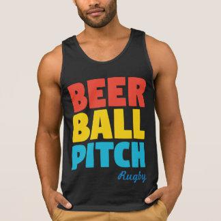 Rugby do passo da bola da cerveja