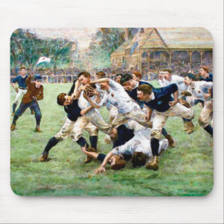 Rugby Mousepad do vintage