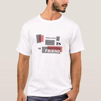 Ruído branco camiseta