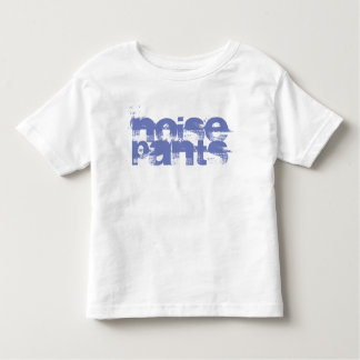 Ruído no t-shirt das calças camiseta infantil