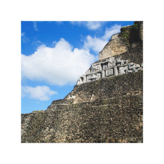 Ruína maia de Xunantunich em Belize