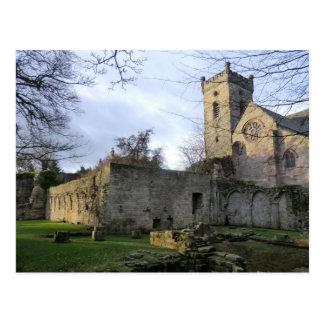 Ruínas da abadia de Culross Cartão Postal