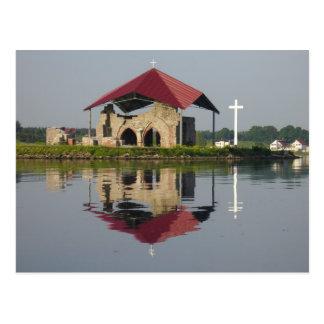 Ruínas da igreja cartão postal