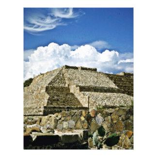 Ruínas de Monte Albán, perto de Oaxaca Panfleto Personalizado