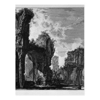 Ruínas de Sixtus, ou ambas o grande salão Cartão Postal