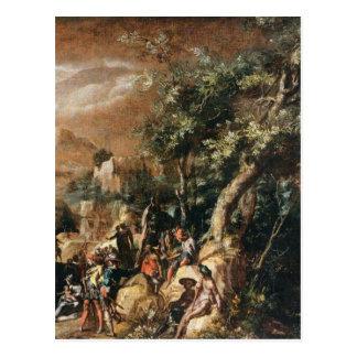 Ruínas e figuras por Paul Bril Cartão Postal
