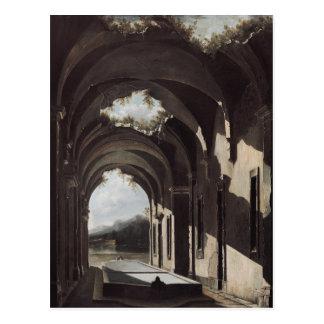 Ruínas em uma paisagem, c.1646-47 cartão postal