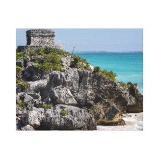 Ruínas maias em Tulum México