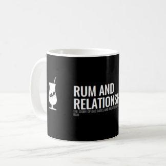 Rum & relações - caneca do logotipo
