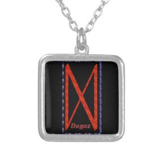 Rune de Dagaz Bijuteria Personalizada