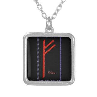 Rune de Fehu Bijuteria Personalizada