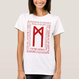 Rune de Mannaz Camiseta