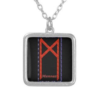 Rune de Mannaz Pingentes
