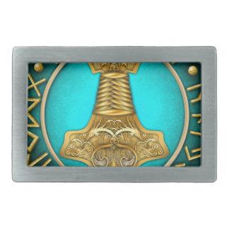 Runes - martelo dos Thors - cerceta