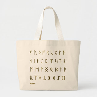 Runes Sacola Tote Jumbo