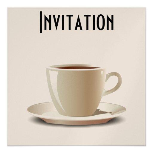 Ruptura de café! convites