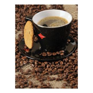 Ruptura de café convites personalizados