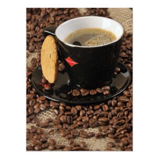Ruptura de café convite 16.51 x 22.22cm