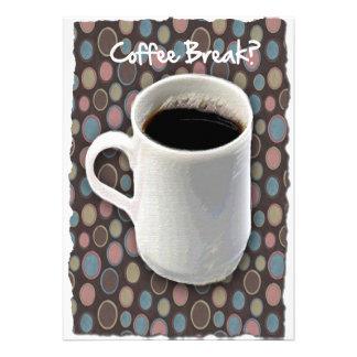 Ruptura de caneca de café e de café dos Ovals