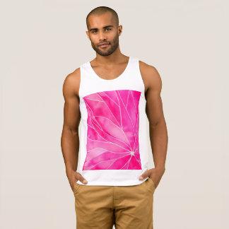 Ruptura do Watercolour do rosa quente