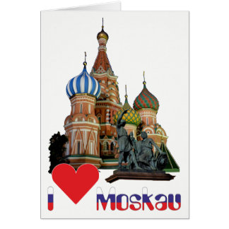 Rússia - Russia Moscovo cartão