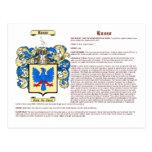 Russo (significado) cartoes postais