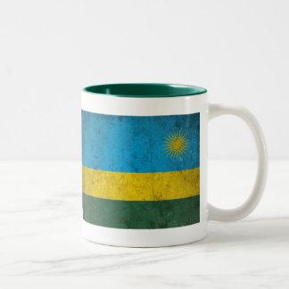 Rwanda Caneca De Café Em Dois Tons