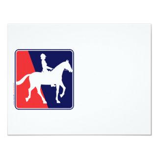 RWB-HORSE-RIDER CONVITES