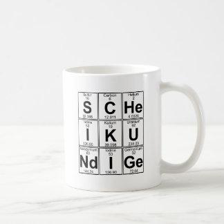 S-c-elE-EU-K-U-Nd-eu-GE (scheikundige) - cheio Caneca De Café