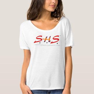 S.H.S. frente e verso oficial Salão de beleza Camiseta