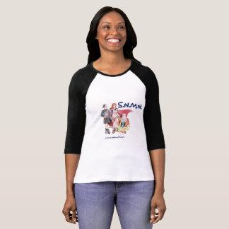 S.N.M.N. O t-shirt das mulheres do Podcast Camiseta