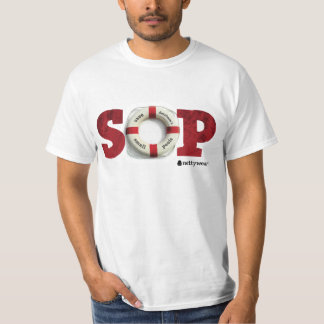 S.O.P salvar nosso t-shirt do valor das piscinas Camiseta