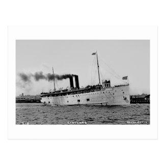 S.S. Eastland como fotografado pelo cartão Co de