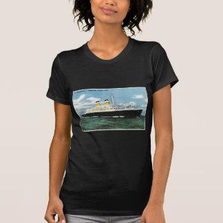 S.S. Linhas vintage de American Express da Camiseta