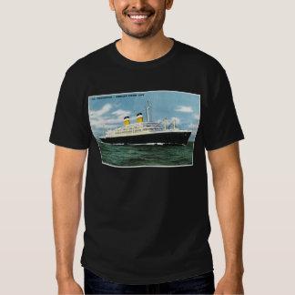 S.S. Linhas vintage de American Express da Camisetas