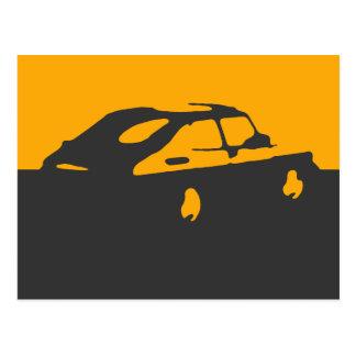 Saab 900 SPG/Aero - amarele no cartão escuro