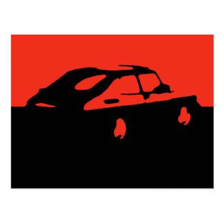 Saab 900 SPG/Aero - vermelho no cartão escuro