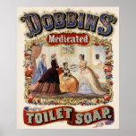 Sabão de toalete medicado dos Dobbins - poster vin