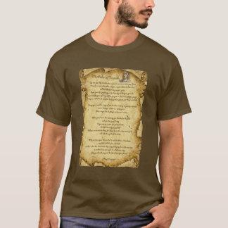 Sabedoria do nativo americano de Tecumseh Camiseta
