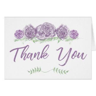 Sábio & cartões de agradecimentos de Lavendar
