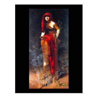 Sacerdotisa da pintura das belas artes do mineiro cartão postal
