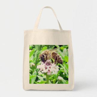 Saco - abelha do mel sacola tote de mercado